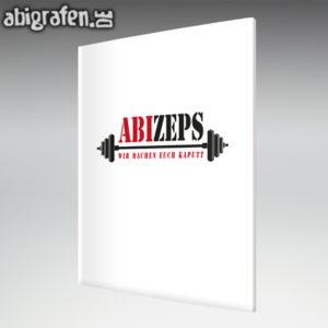 ABIzeps Abi Motto / Abizeitung Cover Entwurf von abigrafen.de®