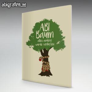 ABI Baum Abi Motto / Abizeitung Cover Entwurf von abigrafen.de®
