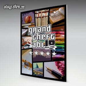 Grand Theft Abi Abi Motto / Abizeitung Cover Entwurf von abigrafen.de®