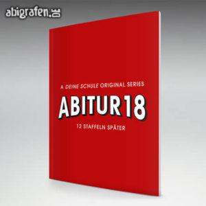 A Deine Schule Original Series Abi Motto / Abizeitung Cover Entwurf von abigrafen.de®