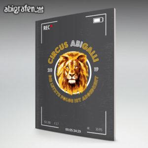 Circus ABIGalli Abi Motto / Abizeitung Cover Entwurf von abigrafen.de®