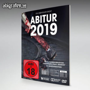 Abi ab 18 Abi Motto / Abizeitung Cover Entwurf von abigrafen.de®