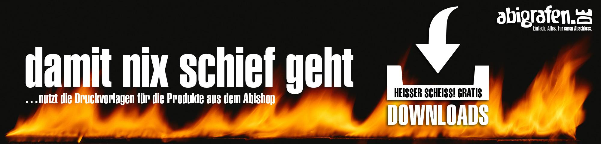 Druckvorlagen für Abiprodukte kostenlos downloaden - abigrafen.de