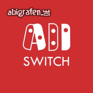 ABI SWITCH Abi Motto / Abisprüche Entwurf von abigrafen.de®