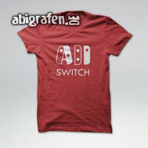 ABI SWITCH Abi Motto / Abishirt Entwurf von abigrafen.de®