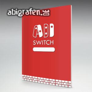 ABI SWITCH Abi Motto / Abizeitung Cover Entwurf von abigrafen.de®