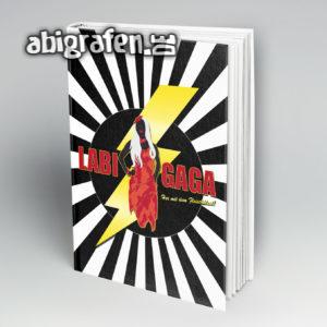 LABI GAGA Abi Motto / Abibuch Cover Entwurf von abigrafen.de®