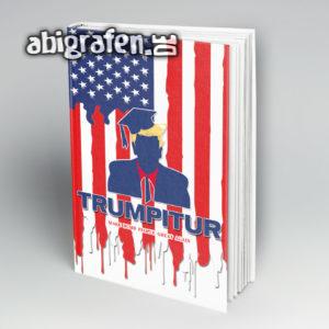Trumpitur Abi Motto / Abibuch Cover Entwurf von abigrafen.de®