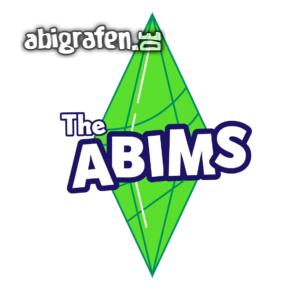 The Abims Abi-Logo T-shirt Design 1. Versuch