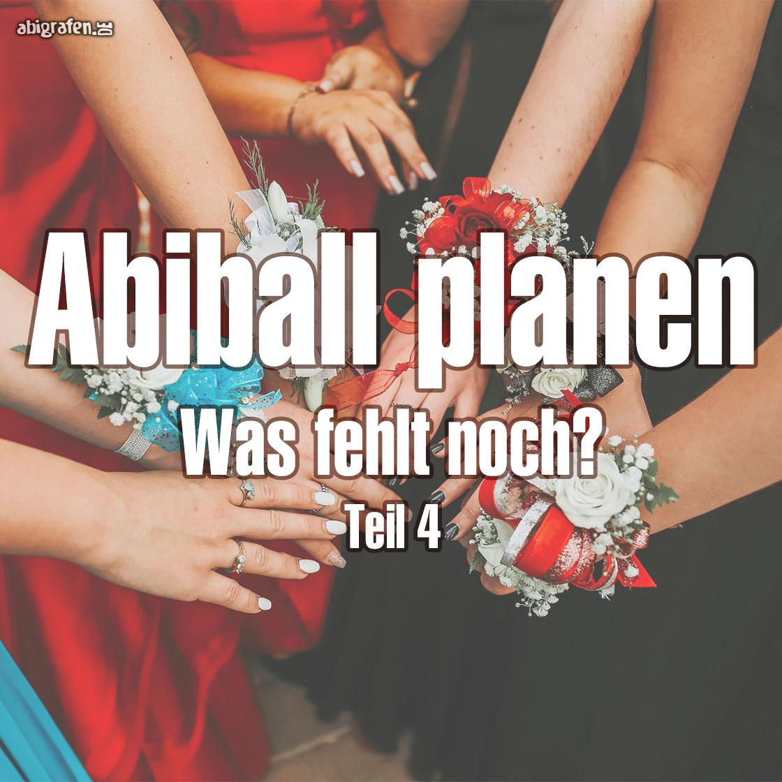 Abiball planen: Was fehlt noch?