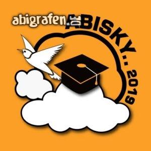 ABIsky Abi Motto / Abisprüche Entwurf von abigrafen.de®
