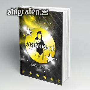 ABIYONCÉ Abi Motto / Abibuch Cover Entwurf von abigrafen.de®