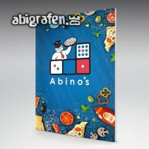 Abino's Abi Motto / Abizeitung Cover Entwurf von abigrafen.de®