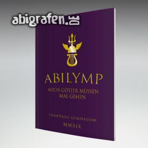 ABIlymp MMXIX Abi Motto / Abizeitung Cover Entwurf von abigrafen.de®