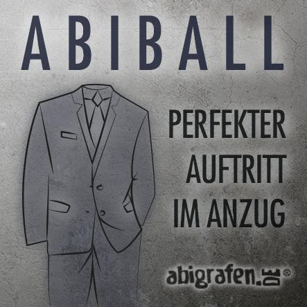 perfekter Anzug für den Abiball