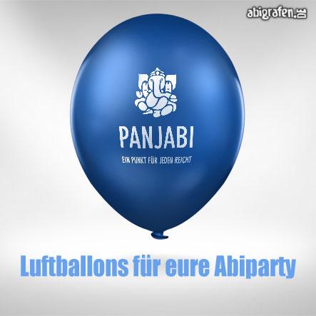 Abimotto auf Luftballons