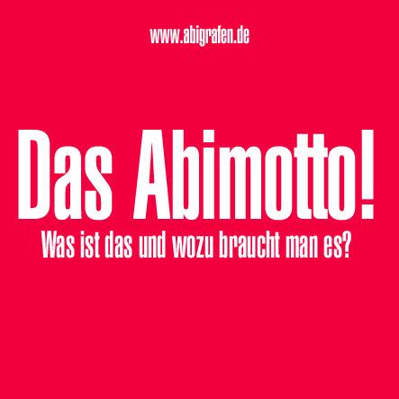 Das Abimotto