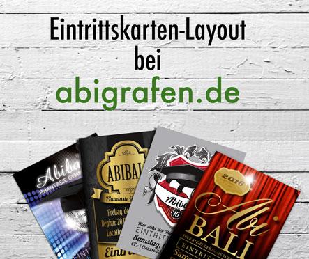 Eintrittskarten mit Layout bei abigrafen.de
