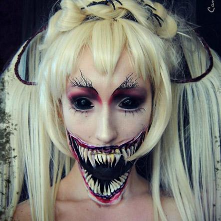 Grusel MakeUps Halloween