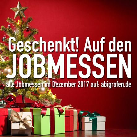 Jobmessen im Dezember 2017