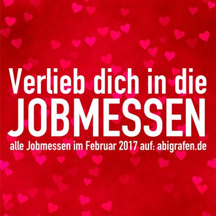 Karrieremesse / Berufsmesse / Jobmessen / Schuelermessen / Berufseinsteiger / Abiturienten / Berufswahl / Jobmessen / Nach dem Abi / Schülerevents / Abievents / Februar 2017