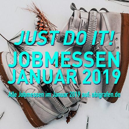 Jobmessen im Januar 2019