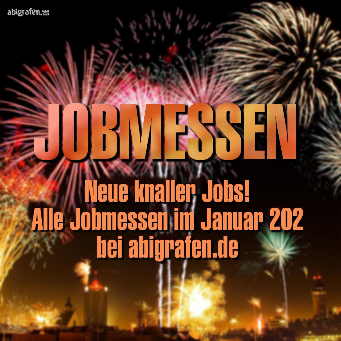die neusten Jobmessen im Januar 2021 mit abigrafen.de