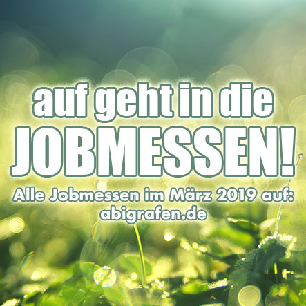 Jobmessen im März 2019