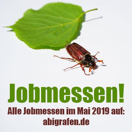 Jobmessen im Mai 2019