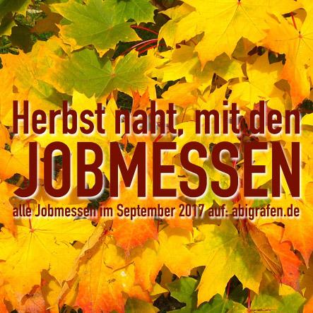 Jobmessen im September 2017 - abigrafen.de