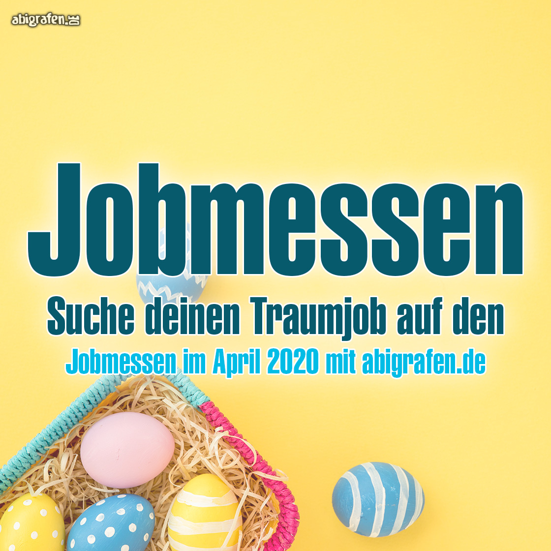 Jobmessen: April 2020