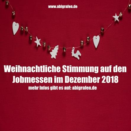 Jobmessen im Dezember 2018