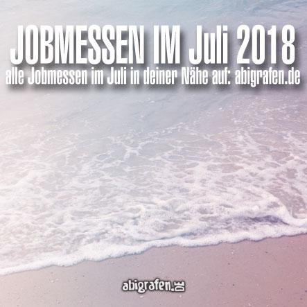 Jobmessen im Juli 2018