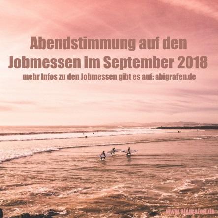 Jobmessen im September 2018
