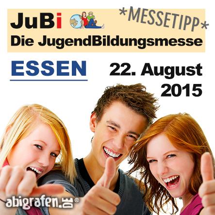 Karriere/ Berufsmesse / Jobmessen / Schuelermessen / Karrieremessen / Berufseinsteiger / Abiturienten / Jugendbildungsmesse - JuBi - 22. August 2015