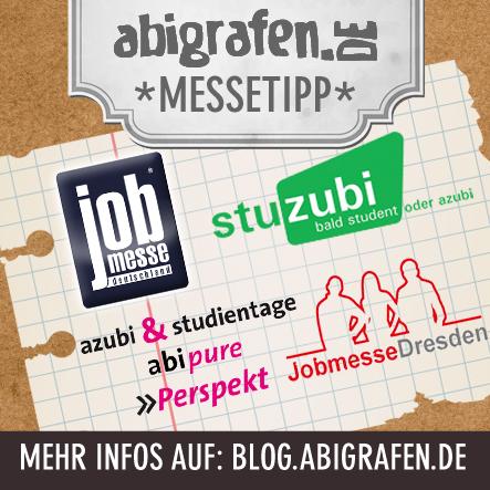 Jobmessen / Schülermessen / Karrieremesse / Berufseinsteiger / Abiturienten - März