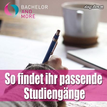 So findet ihr passende Studiengänge