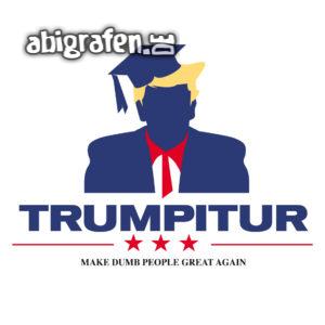 Trumpitur Abi Motto / Abisprüche Entwurf von abigrafen.de®