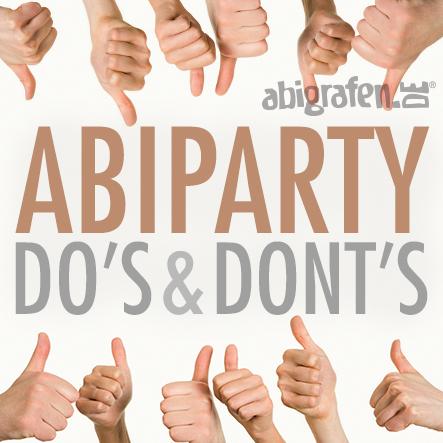 Feiern Do's & Dont's Tipps für die Vofi-Party