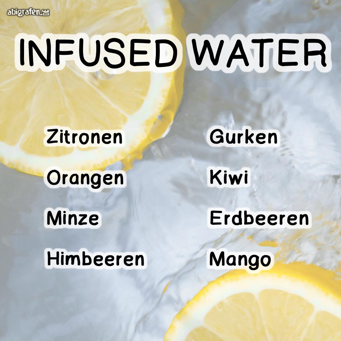 Zutaten für Infused-Water