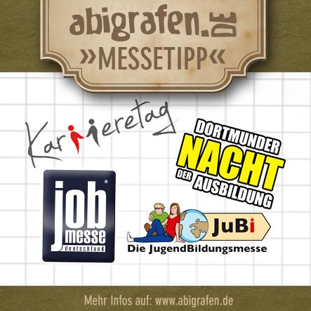 Welchen Beruf willst du ergreifen / Berufsmesse / Jobmessen / Schuelermessen / Karrieremessen / Berufseinsteiger / Abiturienten - Juni