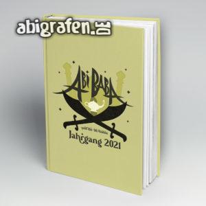 Abi Baba Abi Motto / Abibuch Cover Entwurf von abigrafen.de®