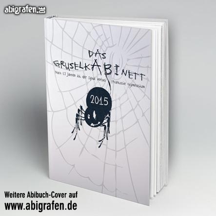Abi Buch drucken inklusive Cover-Gestaltung bei abigrafen.de: Motiv Gruselkabinett