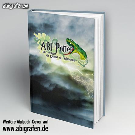 Abi Buch drucken inklusive Cover-Gestaltung bei abigrafen.de: Motiv Abi Potter