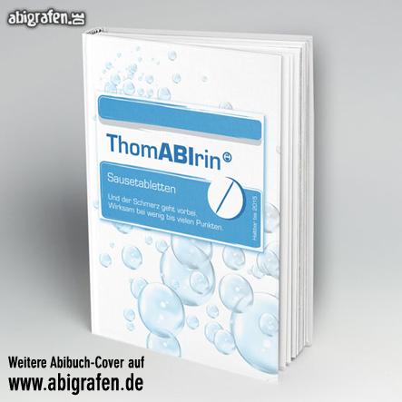 Abi Buch drucken inklusive Cover-Gestaltung bei abigrafen.de: Motiv Thomabirin