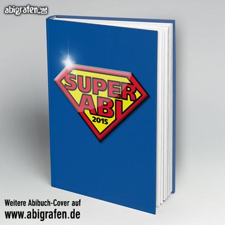 Abi Buch drucken inklusive Cover-Gestaltung bei abigrafen.de: Motiv Super Abi