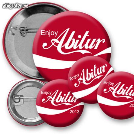 Buttons mit Abisprüchen / Abimotiven