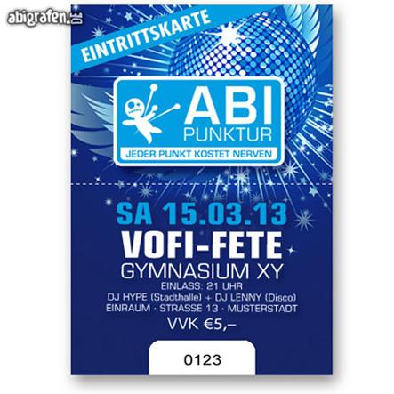 Eintrittskarten Abiball / Abiparty