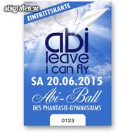 Eintrittskarten für Abiball oder Abiparty