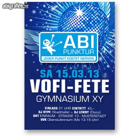 Flyer Abi Party